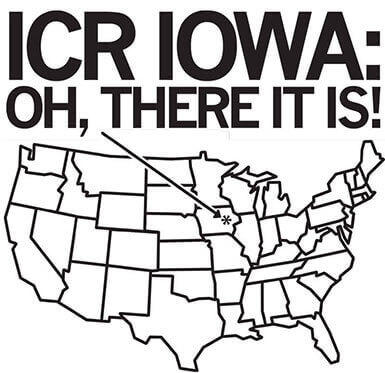 ICR Iowa Oh, There it is!