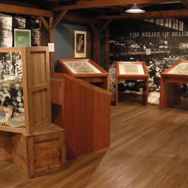 Herbert Hover Museum Belgian Warehouse