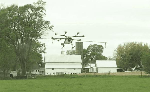 Rantizo Drone Shot